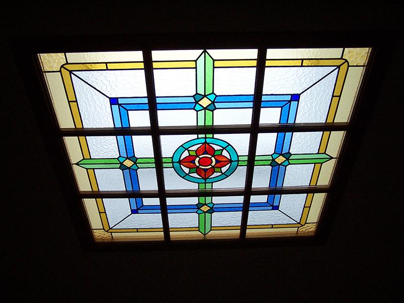 Vidrieras de techos